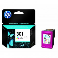 HP Compatible 301 Tri-Colour Ink Cartridge (CH562EE)
